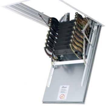 Чердачная лестница с люком в потолок Fakro LSF Fire Protekt 500*700*3000