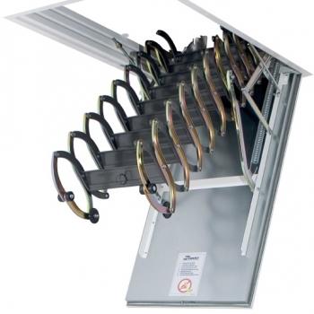 Чердачная лестница в потолок с люком Fakro LSF Fire Protekt 600*1200*3000