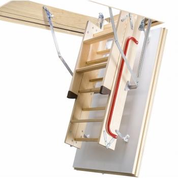Чердачная лестница с люком в потолок Fakro LTK Thermo 700*1200*2800